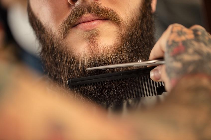 無精髭の処理方法