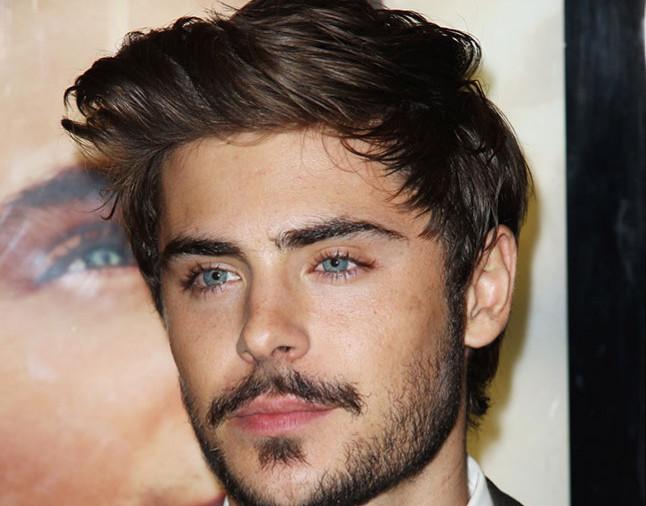 ベース型の顔似合う髭のスタイル