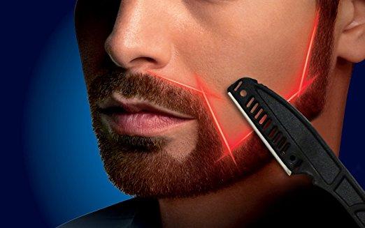 口髭のデザイン方法