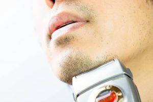 正しい髭剃り方法