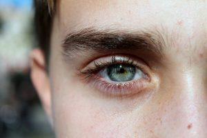 眉のアウトライン