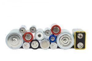 使用可能な電池を確認
