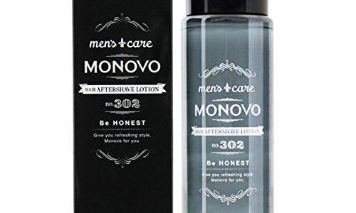 MONOVOのヘアアフターシェーブローションの効果はある?口コミから分析!
