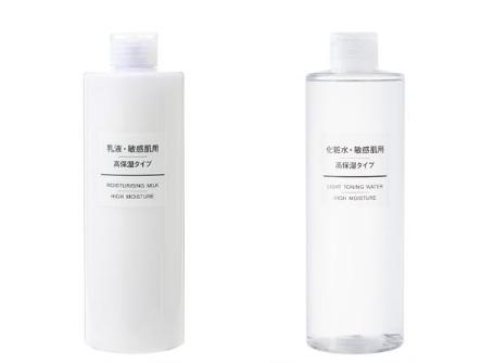 無印良品の化粧水・敏感肌用・高保湿タイプ