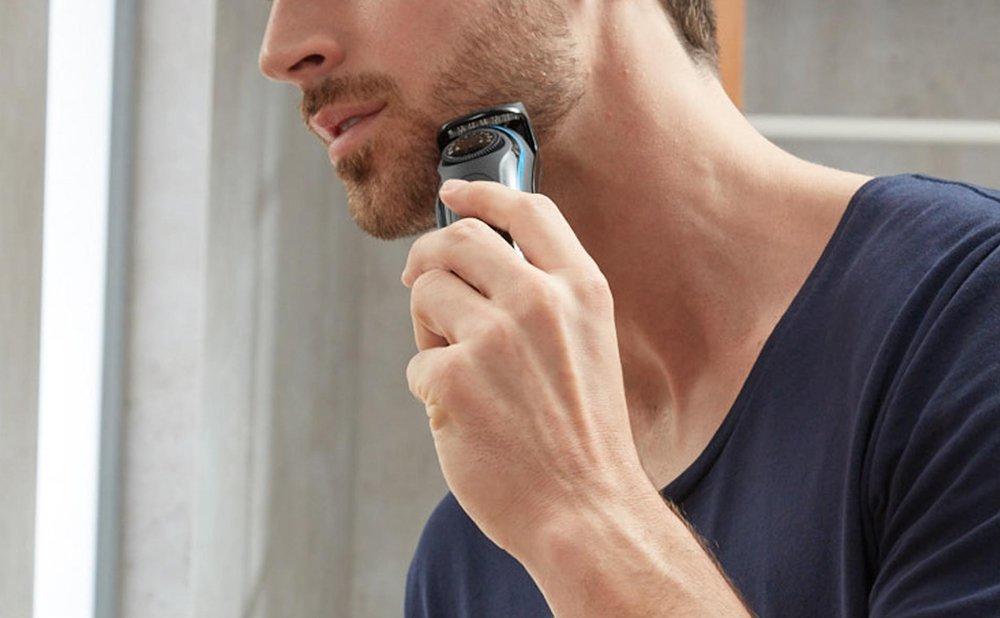日々の髭剃り