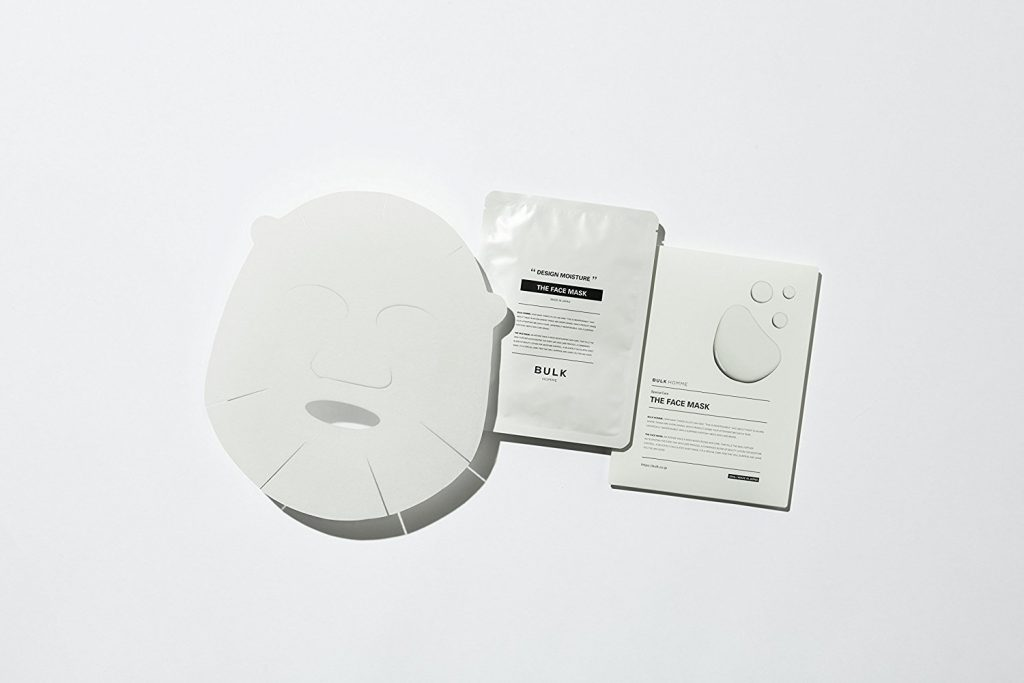 フェイスマスクで保湿効果アップ