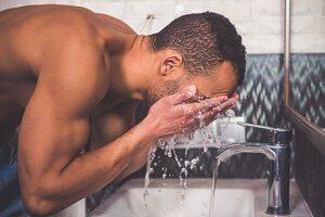 洗顔後のアフターケア