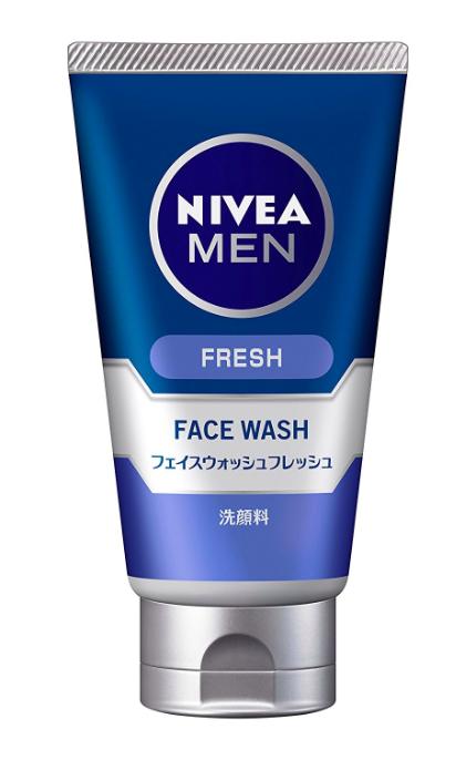 ニベアメン フェイスウォッシュフレッシュ 100g 男性用 洗顔料