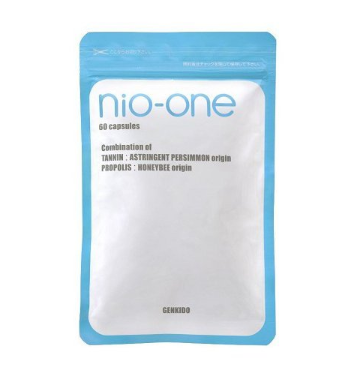 渋柿エキスとプロポリスでニオイを99.7%カット nio-one