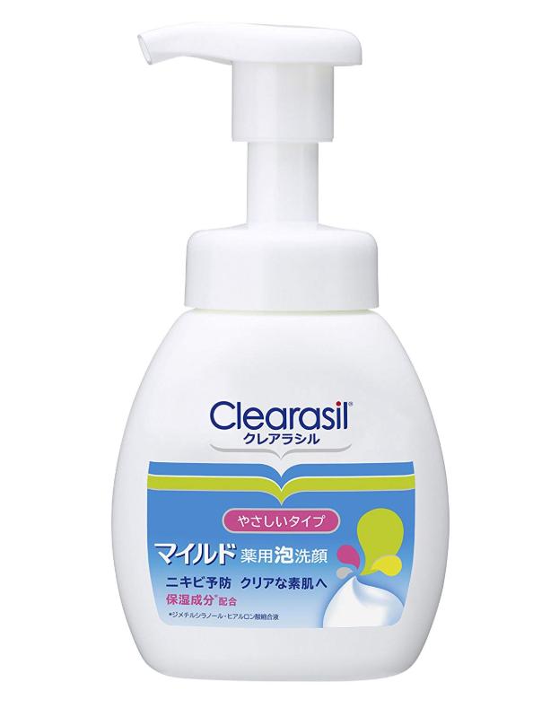 クレアラシル ニキビ対策 薬用 泡洗顔フォーム
