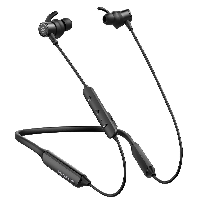 Bluetoothイヤホン ネックバンド型 SoundPEATS