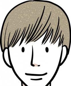 軟毛タイプの髪質はマットタイプ