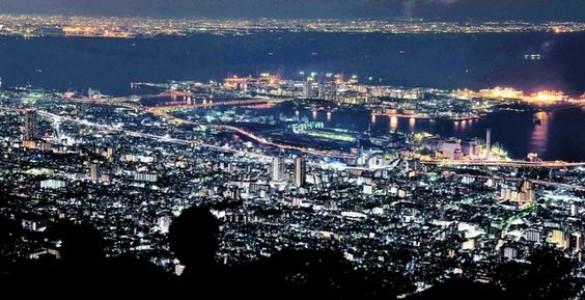 摩耶山から見る夜景がおすすめ