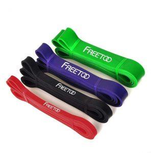 FREETOO フィットネスチューブ エクササイズバンド