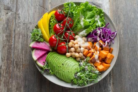 野菜中心の生活