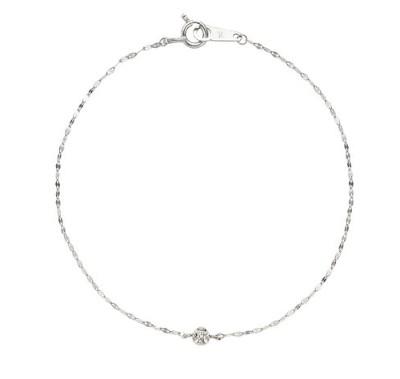 ヴァンドーム青山 プラチナ ダイヤモンド ブレスレット