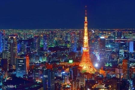 東京タワーから見える夜景は格別