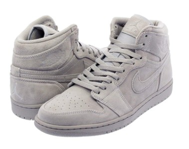 NIKE AIR JORDAN 1 RETRO HIGH WOLF GREY/WOLF GREY