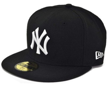 NEWERA CAP YANKEES MLB BLACK/WHITE