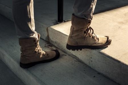 男性がブーツを履くのはあり?