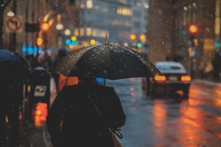 雨に濡れたらすぐに干す