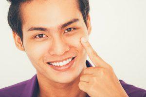 洗顔後のつっぱりを防ぐ