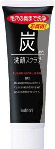 商品名炭洗顔スクラブ 洗顔 メンズ 男性用