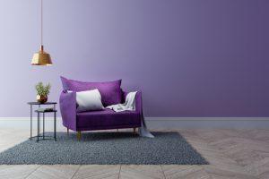 家具はシンプルに