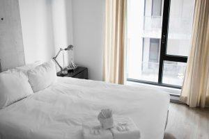 ベッドを清潔にする