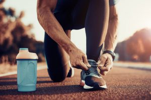 運動でストレス解消