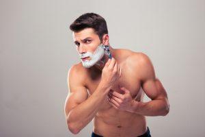 青髭の原因に効く正しい髭の剃り方