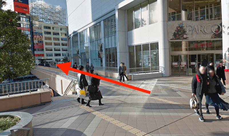 JR「仙台駅」西口から最短ルートで行く方法