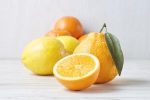 オレンジ、レモン